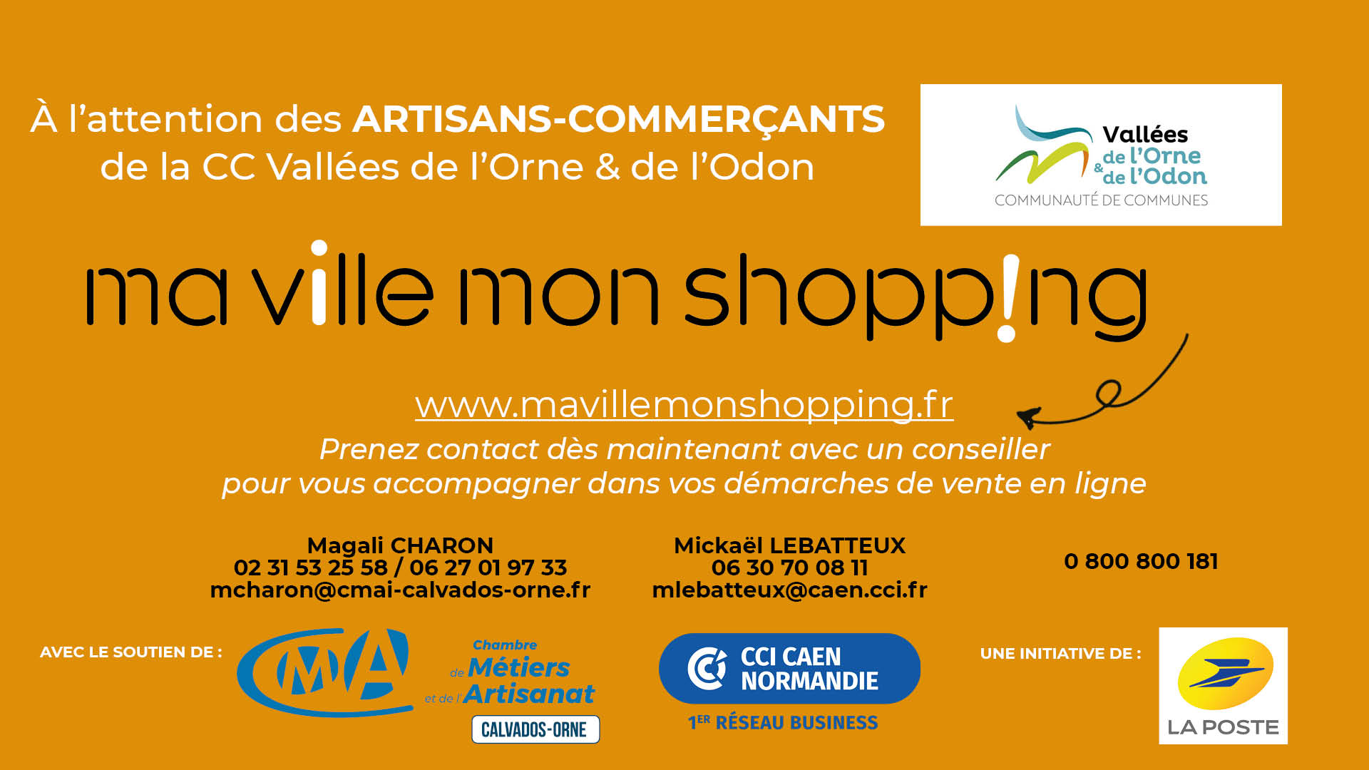 flyer ma ville mon shoping